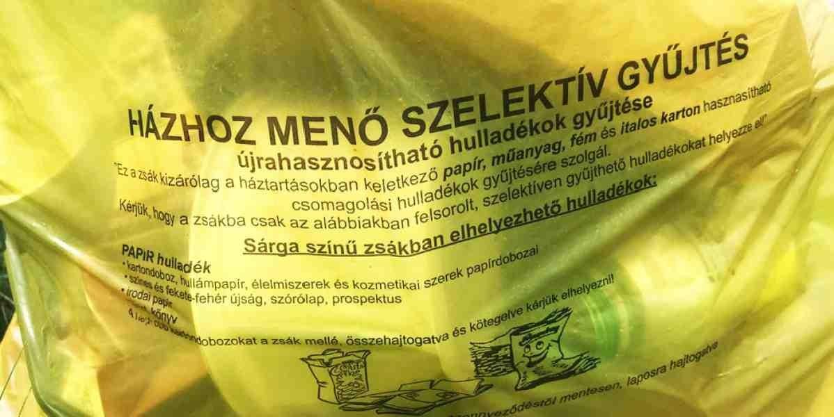| Változás a házhoz menő szelektív hulladékok szállítási rendjében